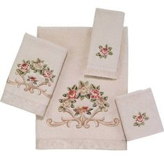 cotton bath towels floral - Google Search