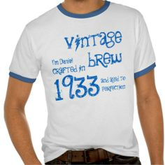 ==>>Big Save on          80th Birthday Gift 1933 Vintage Brew Name For Him T Shirt           80th Birthday Gift 1933 Vintage Brew Name For Him T Shirt so please read the important details before your purchasing anyway here is the best buyThis Deals          80th Birthday Gift 1933 Vintage B...Cleck Hot Deals >>> http://www.zazzle.com/80th_birthday_gift_1933_vintage_brew_name_for_him_tshirt-235768033986158427?rf=238627982471231924&zbar=1&tc=terrest