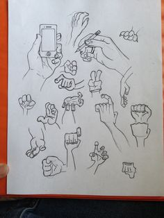 Always practice, this is my first real attempt drawing hands.