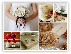 It's a Music Theme Wedding. A themed wedding can be a great way to stand out from the crowd. #Weddings with a #music theme can have a beautiful effect. http://www.favorcouture.theaspenshops.com