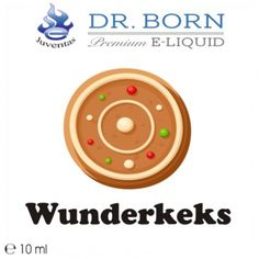 Vapestar - Dr. Born Premium Liquid Wunderkeks