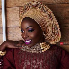 "12.7k Likes, 58 Comments - Africa's Top Wedding Website (@bellanaijaweddings) on Instagram: ""Mela-fab! Beauty: @maryamabdullah  Photography: @Fabolousbanji Makeup: @mamzabeauty  Gele: @onigele…"""