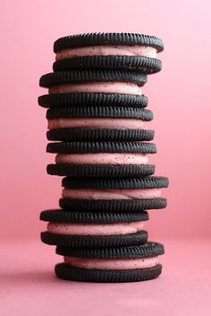 Berry Ice Cream Oreo cookies -yummy goodness. The only Oreos worth eating in my book!