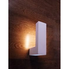 Wandleuchte Pocillo Bemalbar Wandlampe Gipsleuchte Gipslampe Beleuchtung