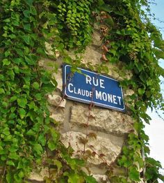 Claude Monet's House and Gardens: The street named Monet