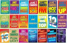 If you have not read the Stephanie Plum series by Janet Evanovich, you don't know what you're missing!!!!  Hilarious!!!!!!