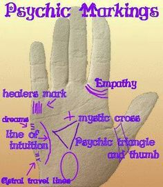 Numerology Spirituality - Did you know that your palm can let you know if you are marked with psychic abilities? Check out this gif! Get your personalized numerology reading Reiki, Palm Reading Charts, Mudras, Psychic Development, Free Psychic, E Mc2, Psychic Mediums, Fortune Telling, Psychic Abilities