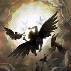 Historia de lucifer el Angel Caido ~ OVNIS - UFO Las grandes verdades del Mundo