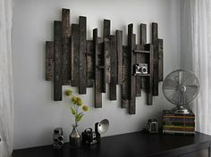 Rustic Wall Decor Ideas From Pallet Woods
