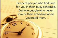 Making time for others. ♡