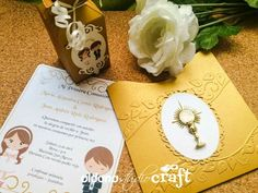 Invitacion y recordatorio primera comunion Place Cards, Place Card Holders, Invitations, Presents