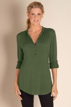 Sonora Top - Ladies Knit Top, Detailed Top, Casual Chic, Long Sleeves Tops | Soft Surroundings