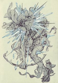 """Interview: Artist James Jean and Linkin Park's Mike Shinoda and Joe Hahn Talk Designing Art for """"The Hunting Party"""" => http://bit.ly/1kUVsGE"""