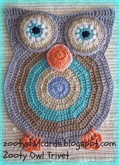 crochet owl. ☀CQ #crochet #owls