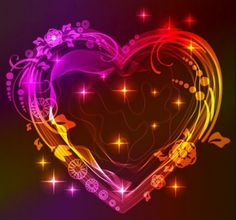 Neon Heart Picture