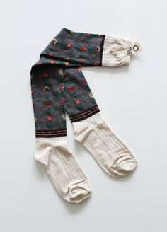 Stuff that special someone's stocking with the Floral Knee High Socks this holiday season! Via Lily and Violet