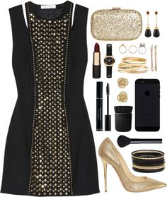 """""""New Year's Party"""" by grapecar1015 on Polyvore"""
