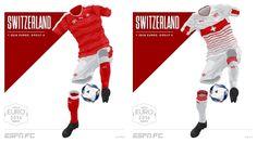 Camisa da Seleção da Suíça Eurocopa 2016-2017 Puma