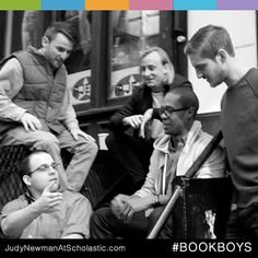 "On our new blog, judynewmanatscholastic.com, you'll find The Book Boys. These five Scholastic ""millennials"" connect kids to new book in lively videos. #JNBlog #Blog #Reading #BookReview #BookBoys #videos"
