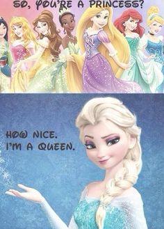 Love it! Frozen