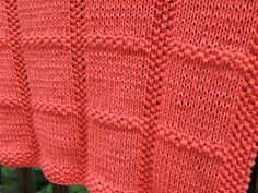 Ravelry: Seed Stitch Squares Baby Blanket pattern by JoAnne Turcotte