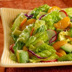 Classic Mandarin Orange Salad Recipe - DOLE- your escape from Planet Winter! #tropical #winter #reinvent2014
