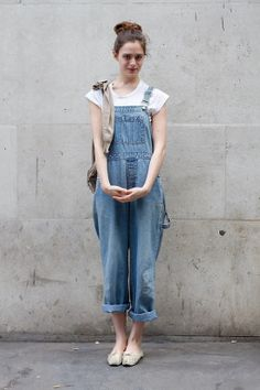 Go on and get all Dexy's Midnight Runners. In case you didn't get the memo: wearing overalls is supa hot right now.