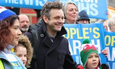 The actor made an electrifying defence of the NHS. There's no real reason Britain's politicians couldn't speak as plainly