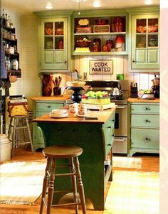 Farm house kitchen from country living