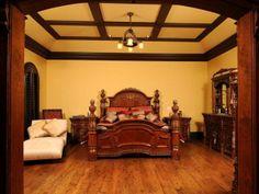 Tuscan Mansion Master Bedroom
