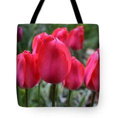 Tote Bag featuring the photograph Shining Pink 2 by Rusalka Koroleva #RusalkaKoroleva#ArtForHome#ArtBag#HomeDecor#PinkBag