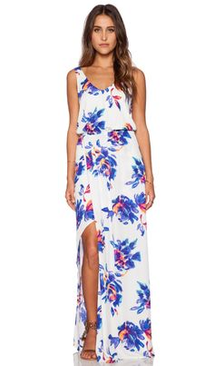 Show Me Your Mumu Kendall Maxi Dress in Petal Paint | REVOLVE