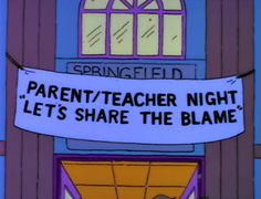 Springfield - parents teacher night