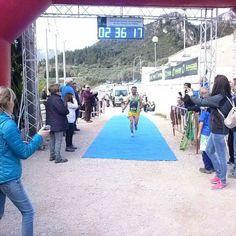 Jonatan Cuesta segon classificat a la Cursa absoluta de la Cursa Panxampla d'Alfara de Carles #ebreactiu #vidaactiva #terresdelebre @circuitebre #cursespermuntanya