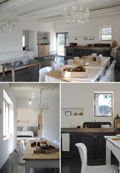 Simple and pure elements. love kitchen for a until.  A LOVELY FARMHOUSE IN THE PROVENCE | THE STYLE FILES
