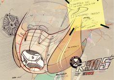 BMW Concept Ninety Design Sketches Bmw Concept, Bike Sketch, Car Sketch, Roland Sands, Motorbike Design, Industrial Design Sketch, Sketch Markers, Motorcycle Art, Sketch Inspiration
