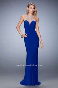 La Femme has just the right dresses you need to feel fabulous and prom ready like style 21929 available at WhatchamaCallit Boutique