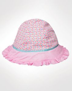 944138f9d8a2ea Protect your infant's delicate skin from the sun's harsh rays with the  comfortable, terry-lined Lorikeet hat by Wallaroo Hat Company.