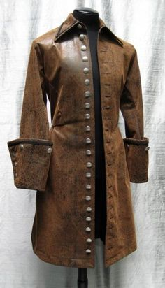 Where do you wear a Galleon Coat?  At home wif da missus!  ;)