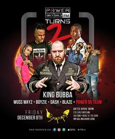 POWER TURNS 2 @ Club Bananas Dec 8th, 2017