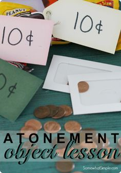 Fantastic Atonement Object Lesson and Handout That's Perfect For Easter Sunday - Somewhat Simple