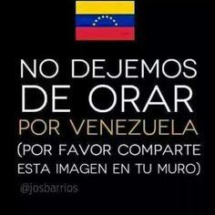 Orar por Venezuela
