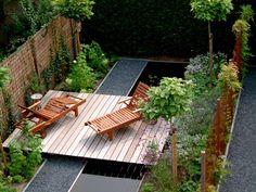 Compact Garden in Tilburg, The Netherlands by Hoveniersbedrijf Jan Abrahams BV