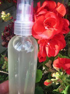 Créer vos produits naturels : simple et pas cher !: Spray anti-moustique Diy Beauté, Smell Good, Perfume Bottles, Water Bottle, Cleaning, Homemade, Beauty, Simple, Zero Waste