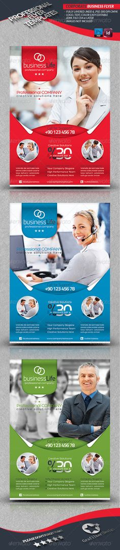 Corporate Business Flyer Business flyer templates, Business flyers - flyers for a business