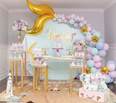 46 Mermaid Birthday Party Ideas #mermaidbirthday #partyideas