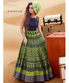 Latest Fancy Designer Gown  http://www.kmozi.com/latest-fancy-designer-gown-895