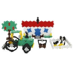 Plus-Plus Mini 480 Farma | edukacnehracky.sk Nintendo 64, Safari, Hello Kitty