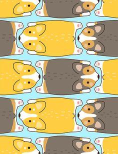 Corgis Saying Hello by Nina Nguyen (Flickr: MIS0HAPPY) @Becky Hui Chan Hui Chan Rea @Laura Jayson Jayson Jayson Jane Roland