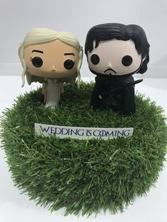 Muñecos boda #wedding #toys #gameofthrones #weddingiscoming #valencia